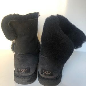 UGG Shoes - UGG Black Side Button Boots